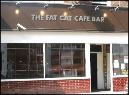 The Fat Cat Cafe Bar, Leicester